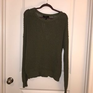 Green Sweater (Size M)